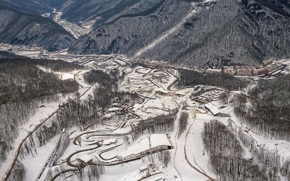 sochi14 Как выглядят Олимпийские объекты с воздуха