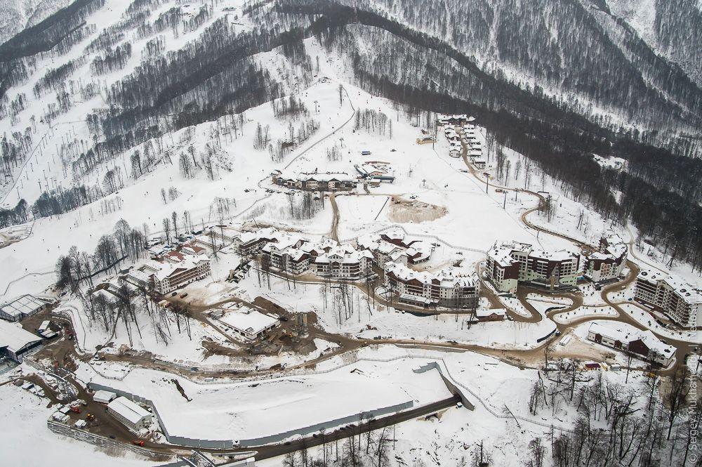 sochi16 Как выглядят Олимпийские объекты с воздуха