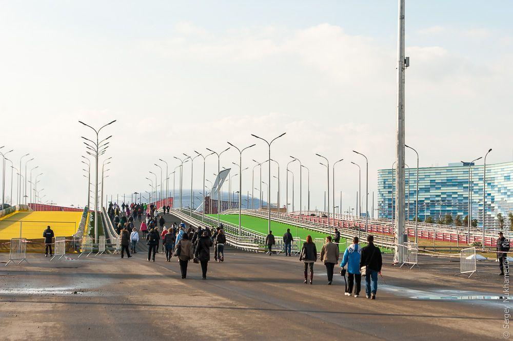 sochi24 Как выглядят Олимпийские объекты с воздуха