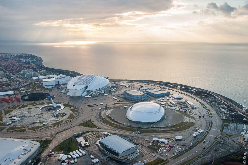 Как выглядят места олимпийских игр сейчас фото