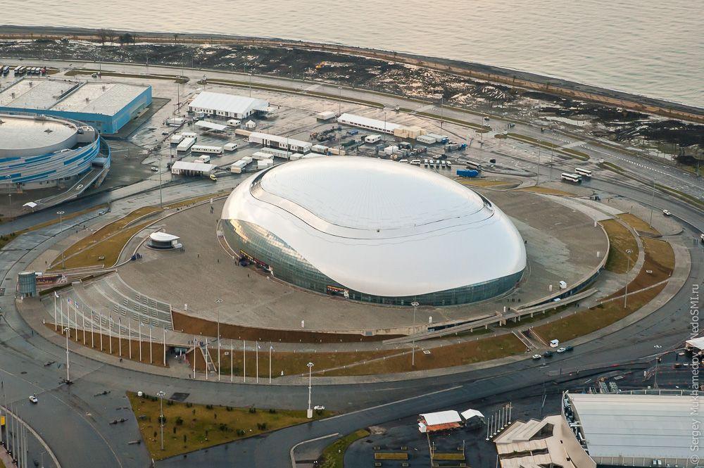 sochi35 Как выглядят Олимпийские объекты с воздуха