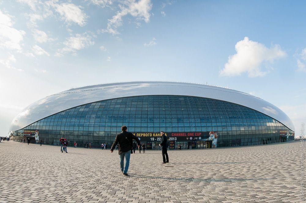 sochi36 Как выглядят Олимпийские объекты с воздуха