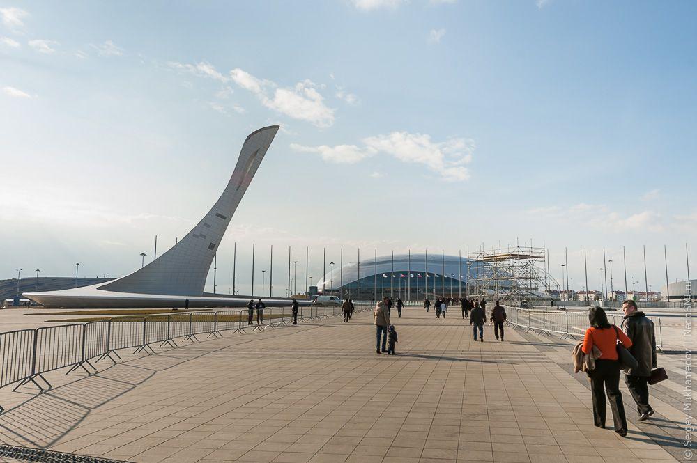 sochi37 Как выглядят Олимпийские объекты с воздуха