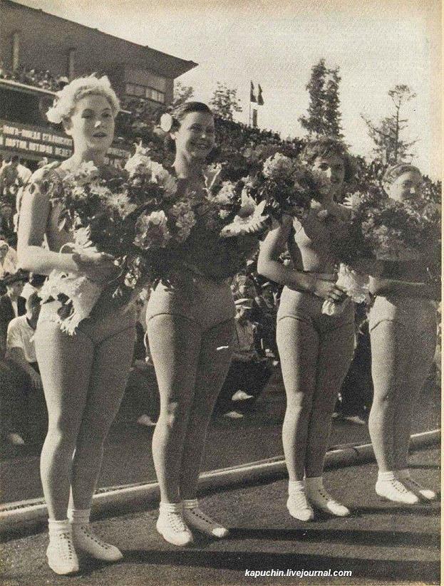 sovietgymnasts02 Спортсменки, комсомолки, красавицы 1930 х