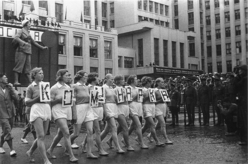 sovietgymnasts09 Спортсменки, комсомолки, красавицы 1930 х