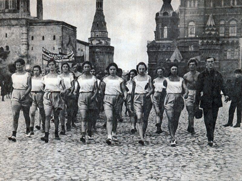 sovietgymnasts10 Спортсменки, комсомолки, красавицы 1930 х