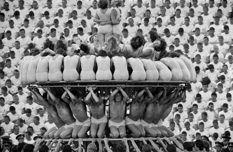 sovietgymnasts11 Спортсменки, комсомолки, красавицы 1930 х