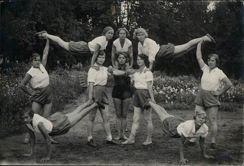 sovietgymnasts16 Спортсменки, комсомолки, красавицы 1930 х