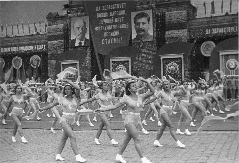 sovietgymnasts20 Спортсменки, комсомолки, красавицы 1930 х