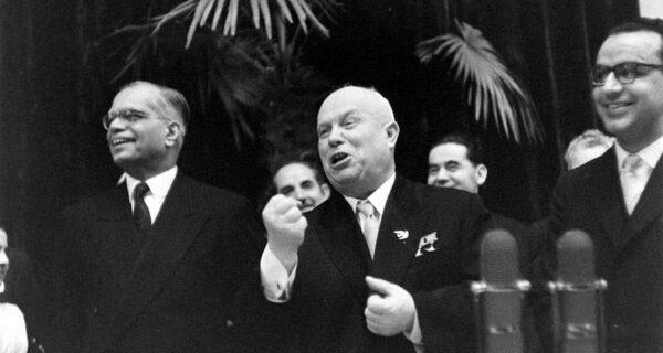 Любопытные кадры с «закрытых» мероприятий в Кремле зимой 1959года
