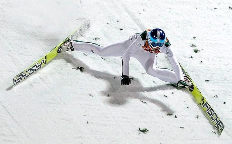 8. Лыжный фристайл (акробатика)