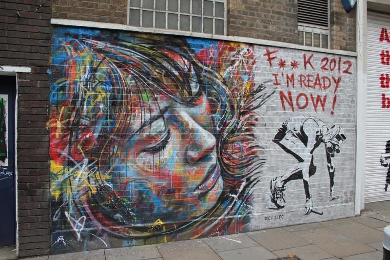 потрясающий стрит-арта от Дэвида Уолкера
