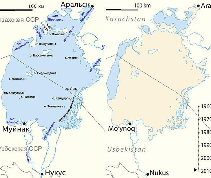 Aralsk7 16 Аральск 7 — закрытый город призрак, где испытывали биологическое оружие