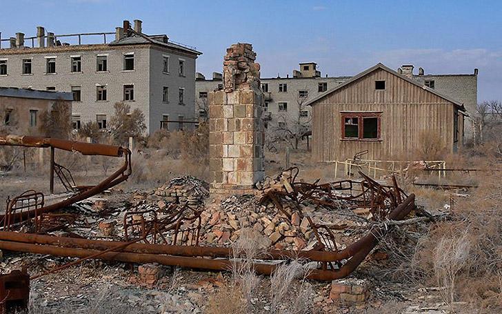 Aralsk7 20 Аральск 7 — закрытый город призрак, где испытывали биологическое оружие