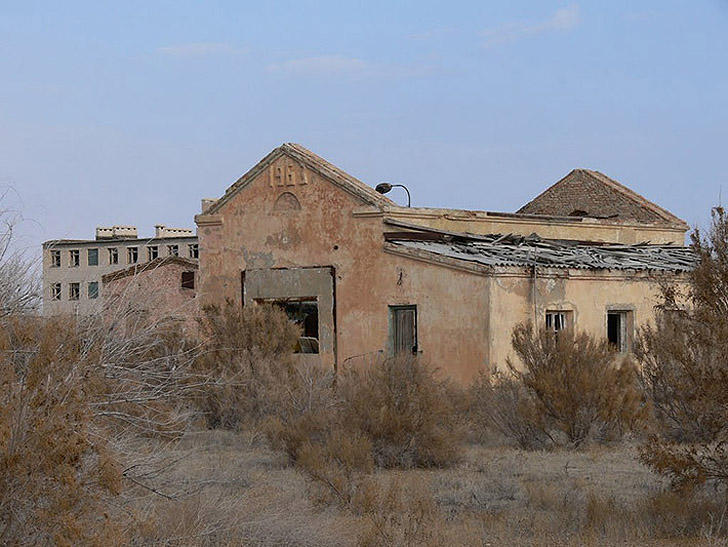 Aralsk7 21 Аральск 7 — закрытый город призрак, где испытывали биологическое оружие