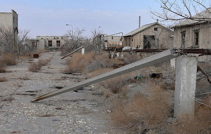 Aralsk7 24 Аральск 7 — закрытый город призрак, где испытывали биологическое оружие