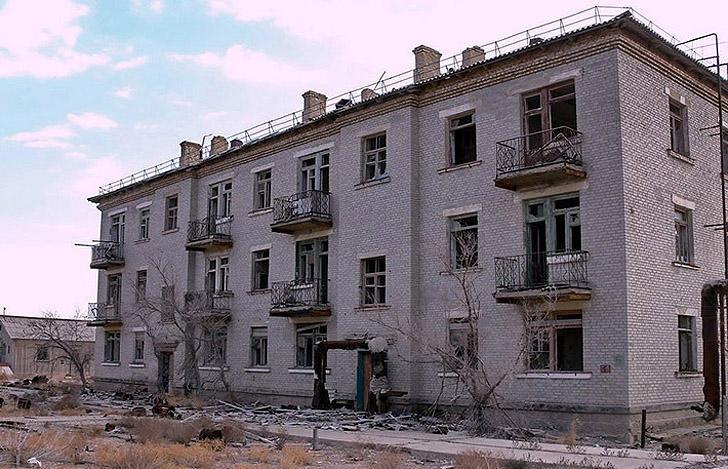 Aralsk7 27 Аральск 7 — закрытый город призрак, где испытывали биологическое оружие