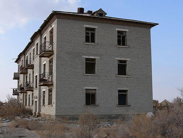 Aralsk7 28 Аральск 7 — закрытый город призрак, где испытывали биологическое оружие