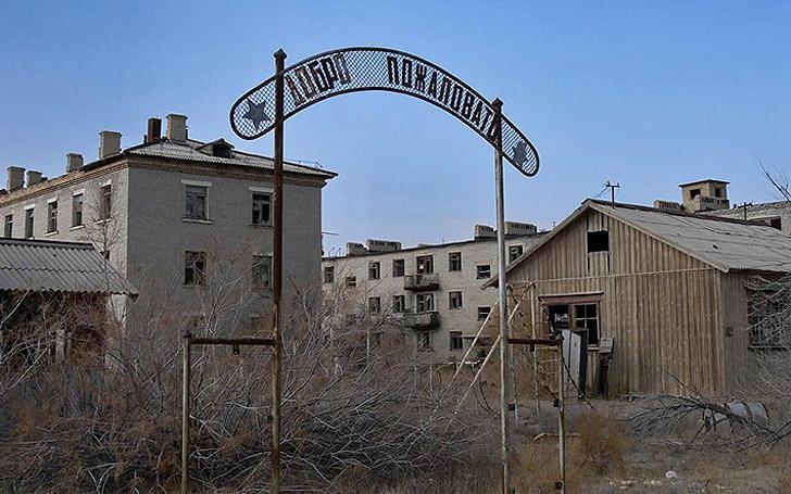 Aralsk7 29 Аральск 7 — закрытый город призрак, где испытывали биологическое оружие