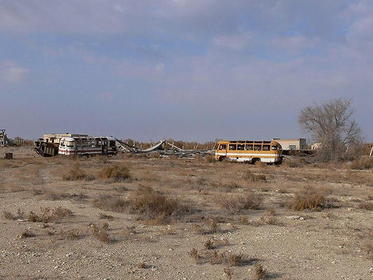 Aralsk7 34 Аральск 7 — закрытый город призрак, где испытывали биологическое оружие