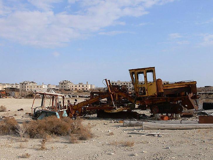 Aralsk7 35 Аральск 7 — закрытый город призрак, где испытывали биологическое оружие