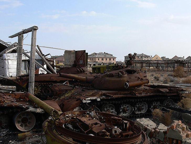 Aralsk7 36 Аральск 7 — закрытый город призрак, где испытывали биологическое оружие