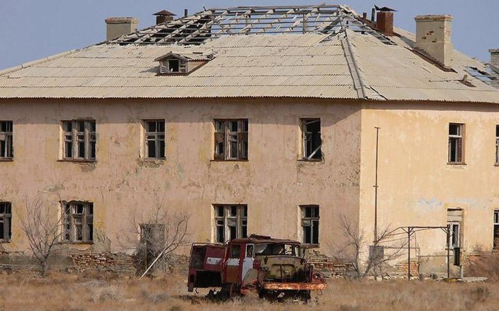 Aralsk7 38 Аральск 7 — закрытый город призрак, где испытывали биологическое оружие