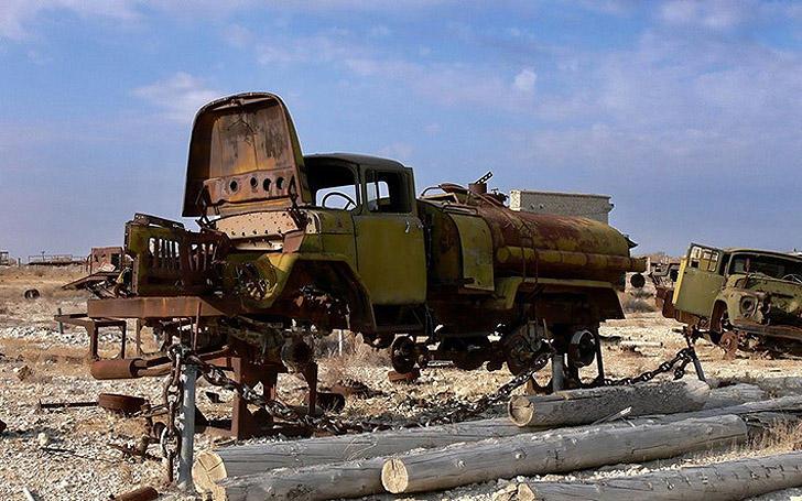 Aralsk7 40 Аральск 7 — закрытый город призрак, где испытывали биологическое оружие
