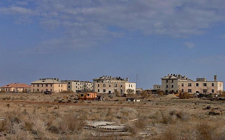 Aralsk7 42 Аральск 7 — закрытый город призрак, где испытывали биологическое оружие
