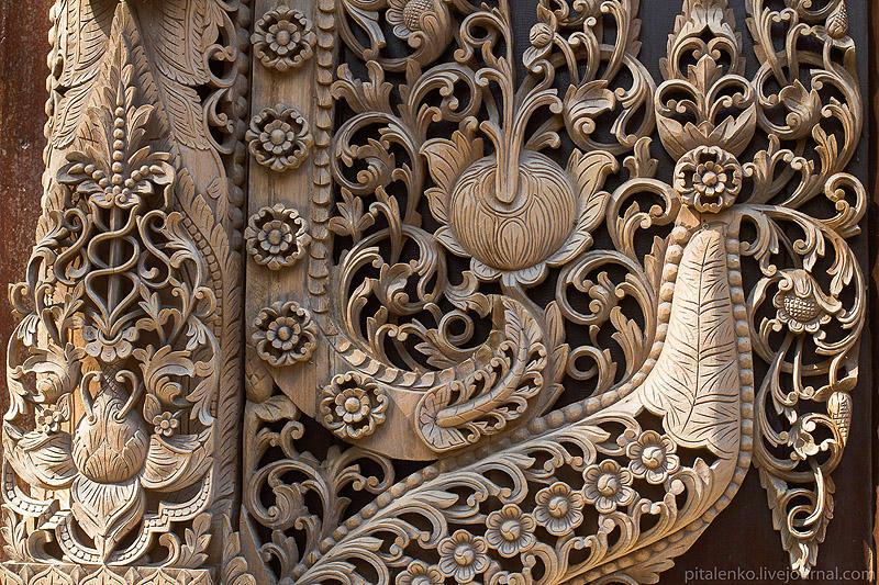 BaanSiDum14 Храм смерти. Черный дом Baan Si Dum. Северный Таиланд