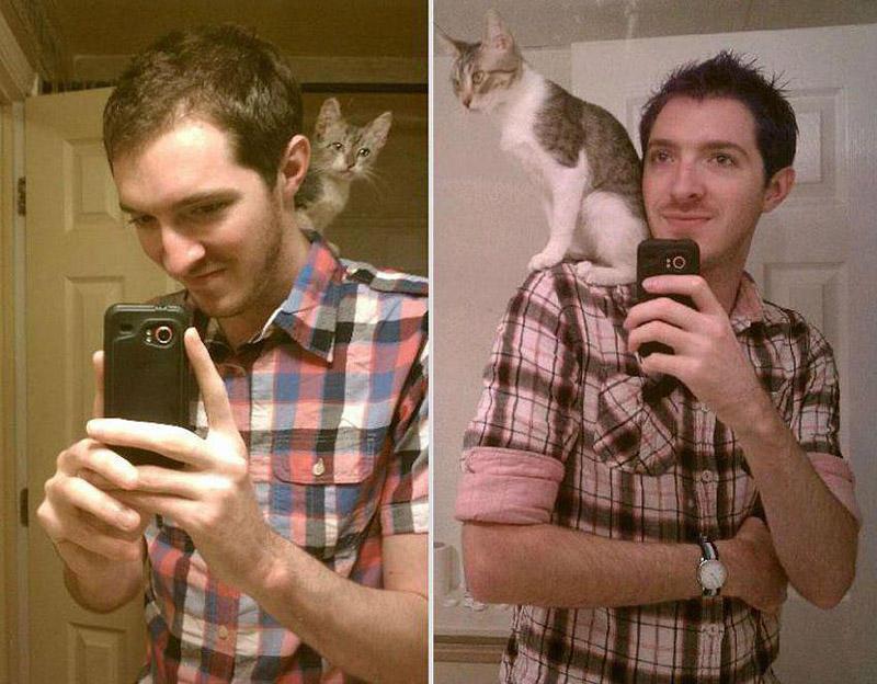 GrowingUp06 Наши любимые животные: фото до и после взросления