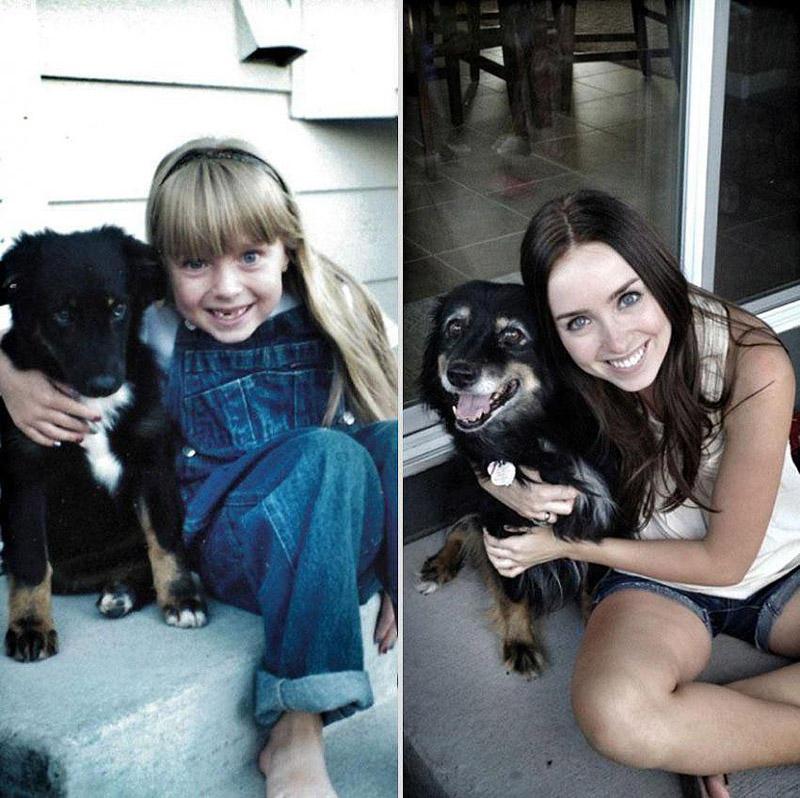 GrowingUp08 Наши любимые животные: фото до и после взросления