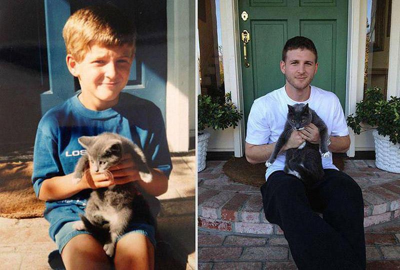 GrowingUp15 Наши любимые животные: фото до и после взросления