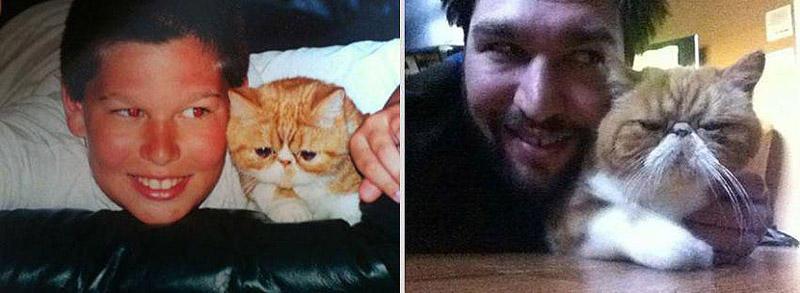 GrowingUp16 Наши любимые животные: фото до и после взросления