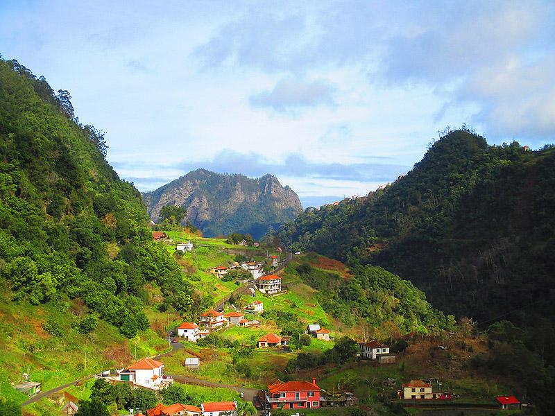Madeirawalk13 Мадейра. Прогулка из Сантаны в Фуншал