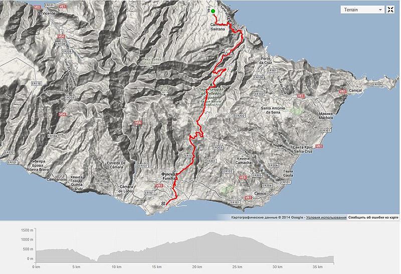 Madeirawalk32 Мадейра. Прогулка из Сантаны в Фуншал