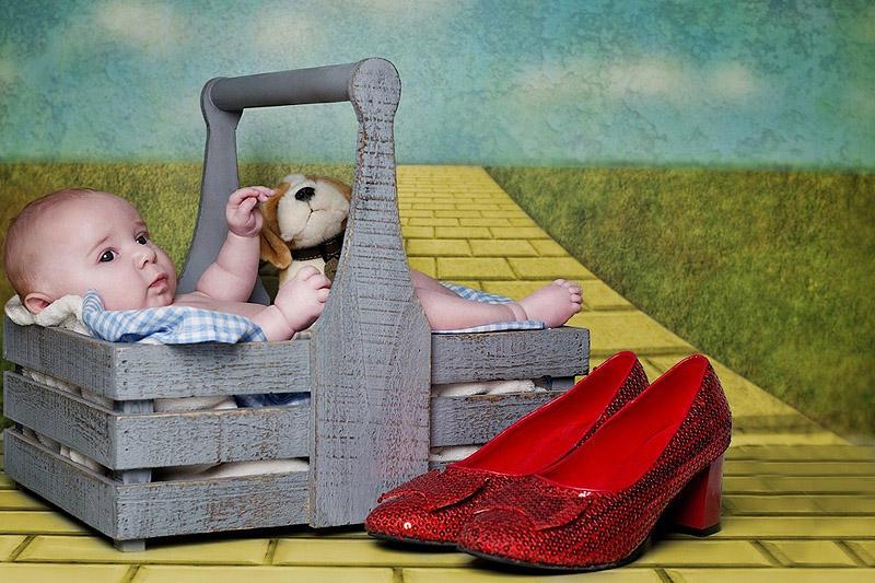 Recreatedstories09 Милые малыши в сказочном фотопроекте