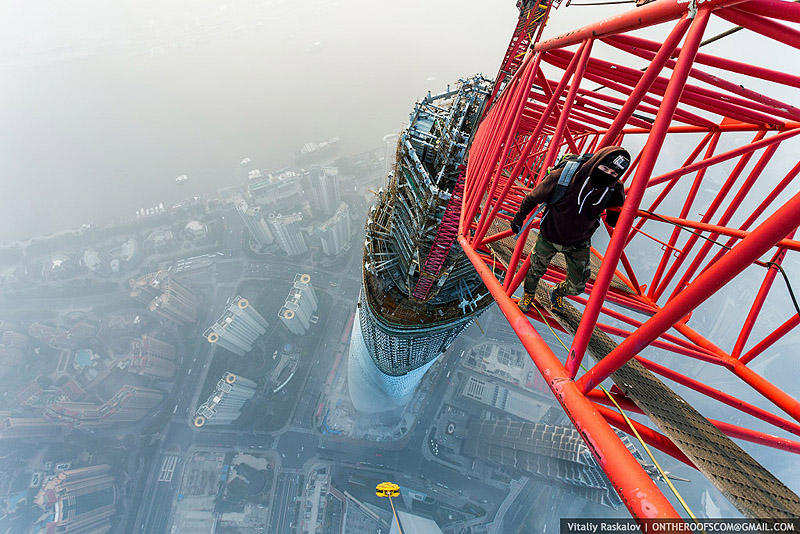 ShanghaiTower07 Шанхайская башня