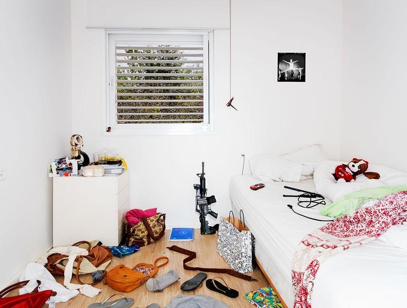 YoungGuns08 Заглянем в комнаты израильских военных