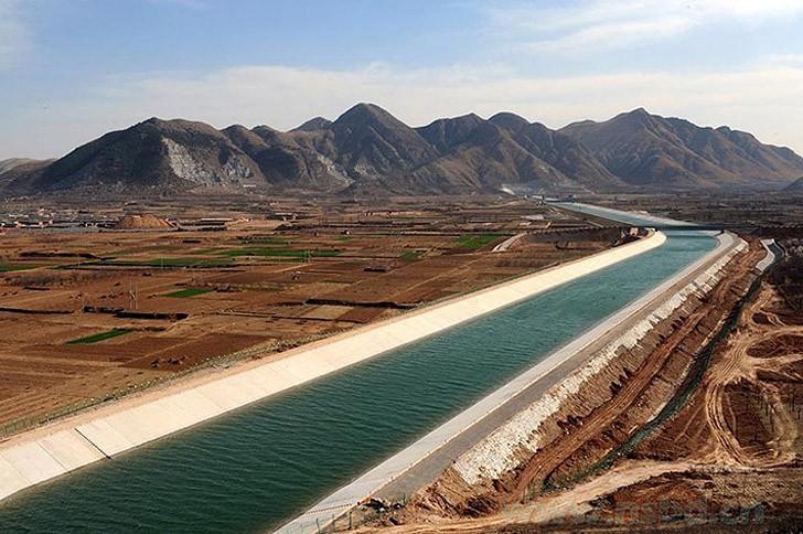 Поворот китайских рек