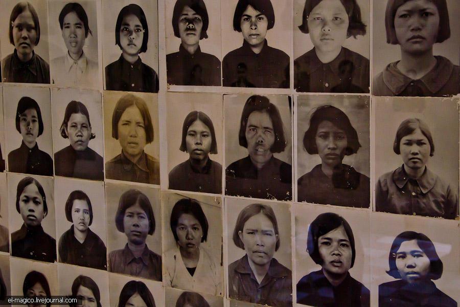 communistjail07 Тюрьма для врагов коммунизма и место убийства 17 000 человек. Туол Сленг и Чоенг Эк