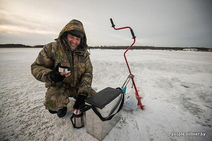 летняя рыбалка на минском море