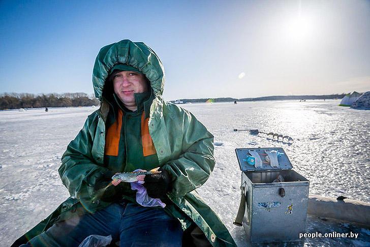 рыбалка на минском море