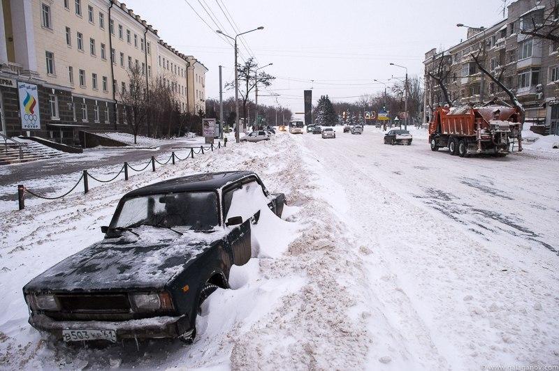 snowyRostov09 Ростов на Дону: четвертый день в снежном плену