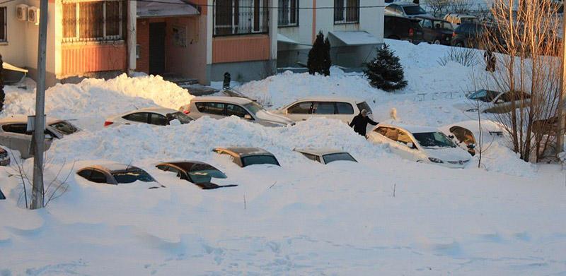 snowyRostov21 Ростов на Дону: четвертый день в снежном плену