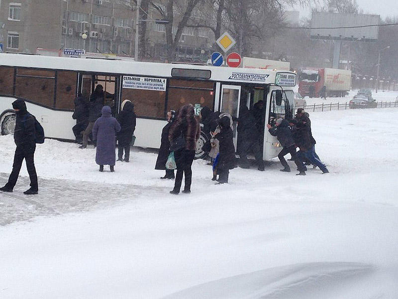 snowyRostov28 Ростов на Дону: четвертый день в снежном плену