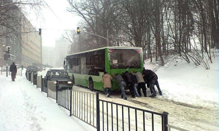 snowyRostov29 Ростов на Дону: четвертый день в снежном плену