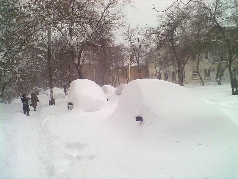 snowyRostov30 Ростов на Дону: четвертый день в снежном плену