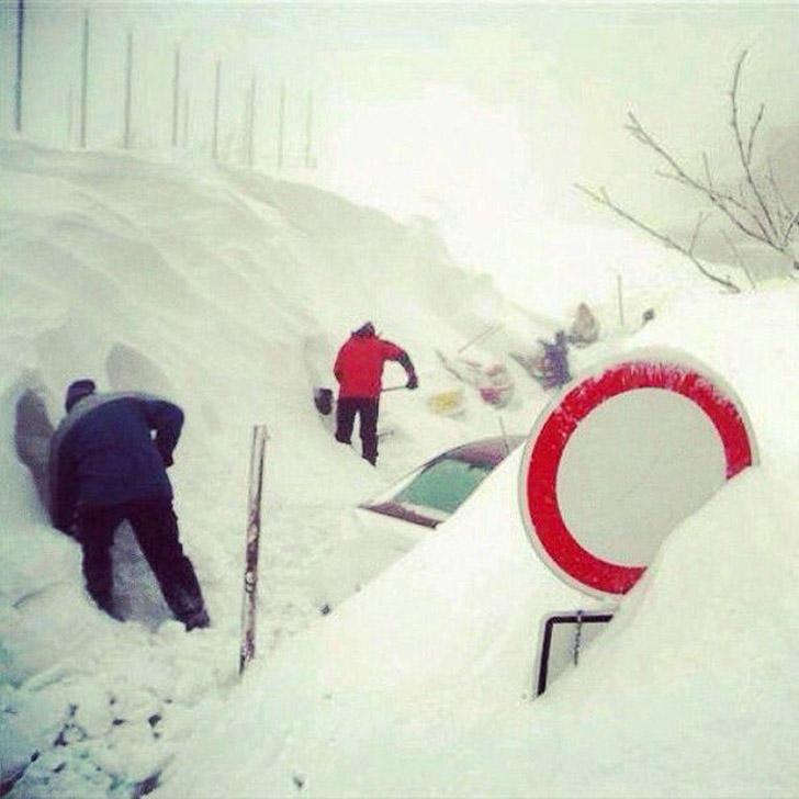 snowyRostov40 Ростов на Дону: четвертый день в снежном плену