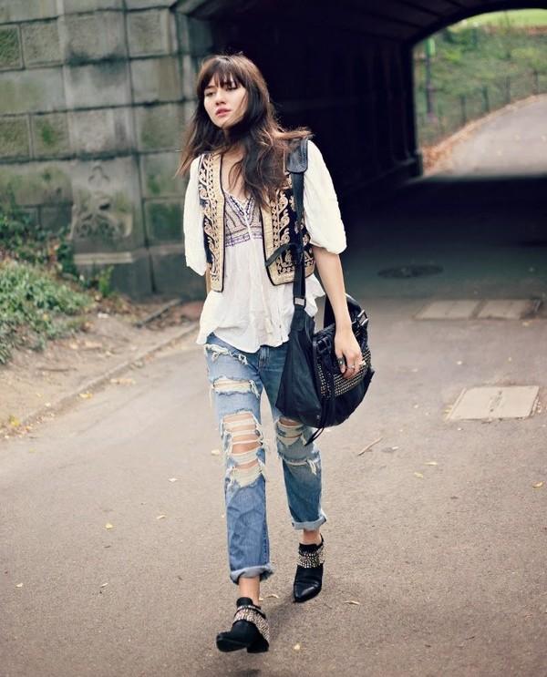 stylishbloggers01 Поэтика улиц: 9 девушек блогеров с безупречным вкусом
